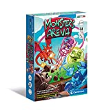 Clementoni - Monsters Arena-mazo, Cartas Infantiles, Mesa, Juego de Sociedad para Toda la Familia, 2-5 Jugadores, 8 años +, Fabricado en Italia, Multicolor, 16302