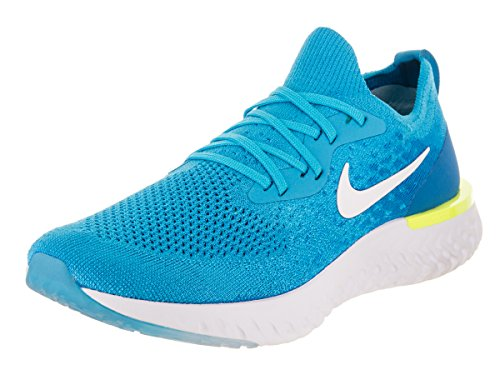 Preisvergleich Produktbild Nike McKinley Epic React Flyknit,  blau(blueglowwhitephotobluevol),  Gr. 9½