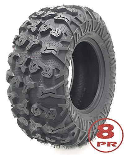 One Free Country ATV/UTV Tire 25x10-12 25x10x12 / 8PR w/Side Scuff Guard