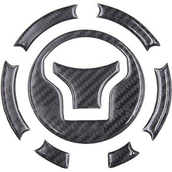 Motorcycle 5D Real Carbon Fiber Fuel Gas Tank Protector Pad Sticker For Honda CB190R CBF190R CBR250 CB400 CB750 CBR600R CB1000R CBF1000 CBR1000RR CBR1100XX CB1300