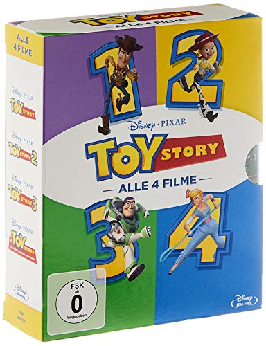 Toy Story 1-4 [Blu-ray]