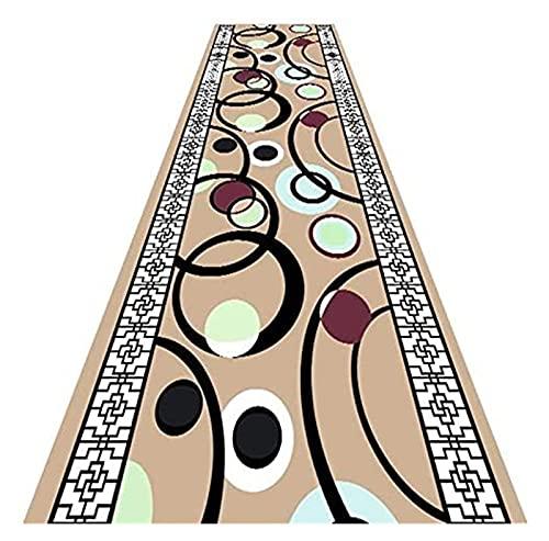 Langer Flur Hall Runner schmale Teppiche Teppichreiter Teppich modernes Design rutschfeste Feuchtigkeitsabsorption für Korridor/Küche/Wohnzimmer/Bodenschutz Matte Mode, Kreativität