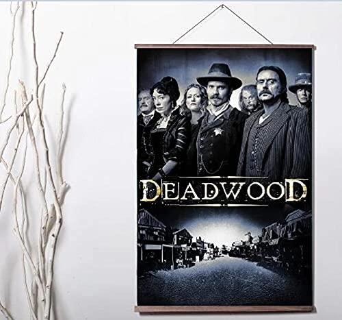 SIRIUSART Lienzos Cuadros Decorativo Deadwood: la Pintura de la decoración del Cartel de la impresión de la Lona del Arte de la película 60x90cm