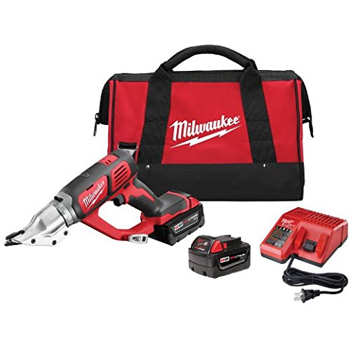 Best Review Of Milwaukee 2635-22 M18 Cordless 18 Gauge Double Cut Shear - Kit
