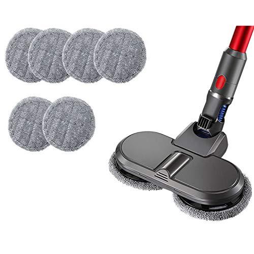 GYing For Dyson V7 V8 V10 V11 Piezas reemplazables para el hogar aspiradora cepillo eléctrico de fregona + paño de limpieza