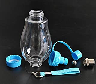 Pet Water Dispenser Pet Portable Double Head Water Feeding Bottle Travel Pet Drink Kettle(Blue) Cat Travel Drink Bottle