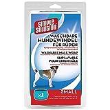 Simple solución pañal para Perro, Lavable, tamaño pequeño