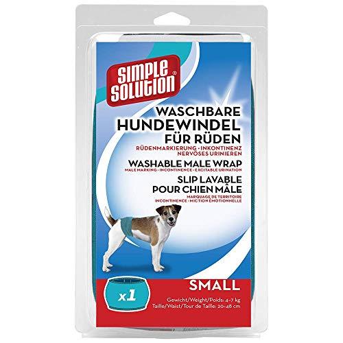 Simple Solution Hunde Windeln waschbar für Rüden S