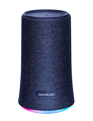 Anker Soundcore Flare, Bluetoothスピーカー 360°サウンド イコライザー設定 IPX7 防水 (ネイビー)