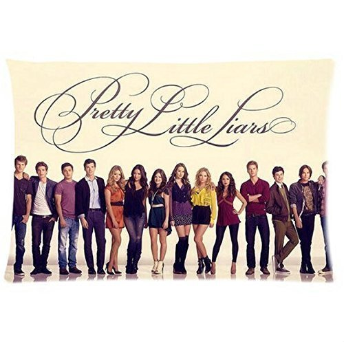 TV Series Pretty Little Liars Poster Custom Rectangle Soft Pillowslips Pillowcase Cover Standard Size 20x30 Inches Twin Sides