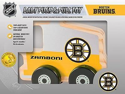 Boston Bruins Wood Push & Pull Toy