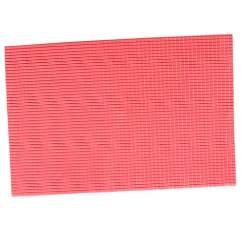 FLAMEER Kunststoffplatte Modellbauplatte Dach Ziegel Baumaterial Zubehör für Modellbau - 1/100