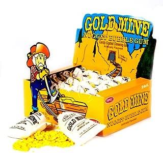 Gold Mine Nugget Bubble Gum - 24 / Box