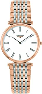 Longines La Grande Classique Two Tone Steel & Rose Gold PVD Mens Watch L4.709.1.91.7