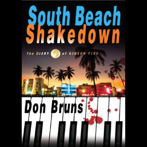 South Beach Shakedown audiobook cover art