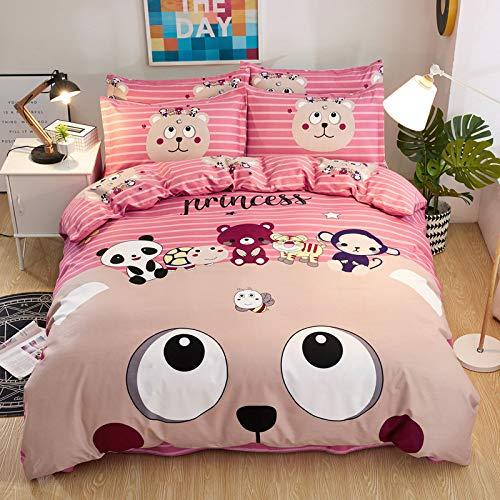 huyiming bed voeringen gebruikt voor Home textiel grote versie vierdelige dikke dekbedovertrek beddengoed