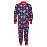 Arsenal FC - Kinder Schlafanzug-Overall - Offizielles Merchandise - Geschenk für Fußballfans - Blau - 9-10 Jahre