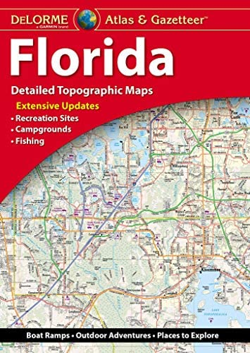 DeLorme Atlas Gazetteer Florida product image