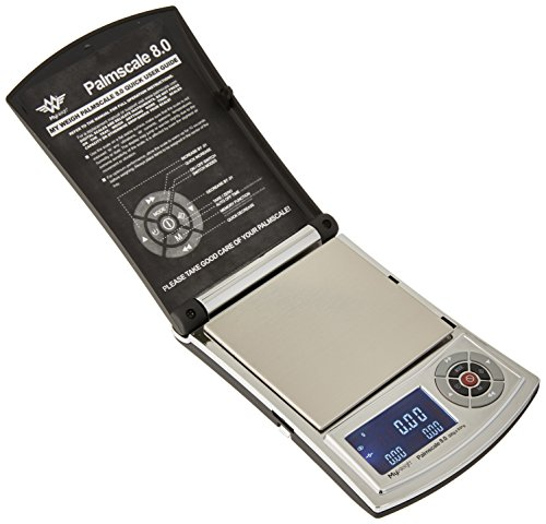 My Weigh SCPS8300 Palmscale 8 300 Digitalwaage, Silber