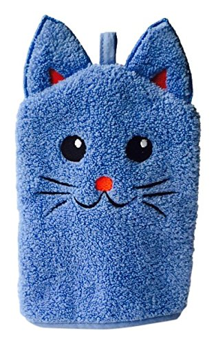 Little Ashkim Kitten Puppet Wash Mitten