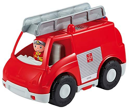 Jouets Ecoiffier -1485 - Camion de pompiers Abrick – Jeu de construction pour enfants – Dès 18 mois – Fabriqué en France