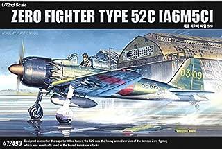 Academy 12493 Zero Fighter Type 52C A6M5C 1/72 FA157 Plastic Model Kit /item# G4W8B-48Q51118