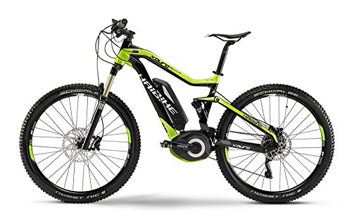 Haibike XDURO FullSeven RX 27.5 Schwarz/Lime, 45cm