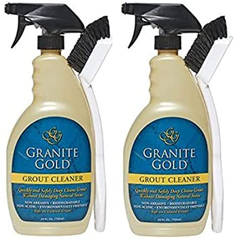 Max 79% OFF Granite Gold Grout Max 74% OFF Cleaner with oz-2 pk Brush 24