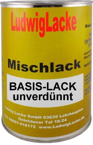 Basislack für VW Flashrot Farbcode LP3G oder D8 oder 9308 Baujahr 1991-2013 Unilack 0,5 Liter Basislack unverdünnt