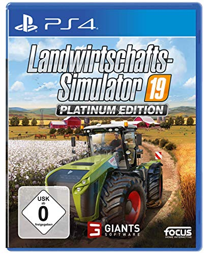 Landwirtschafts-Simulator 19: Platinum Edition - [PlayStation 4]