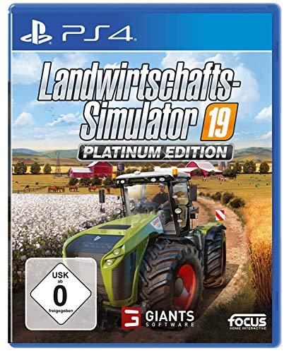 Landwirtschafts-Simulator 19: Platinum Edition (PS4) (USK)