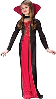 Girl's Victorian Vampiress Costume