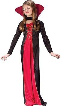 Fun World Girl's Victorian Vampiress Costume