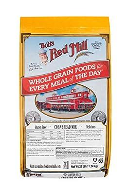 Bob's Red Mill Gluten Free Cornbread Mix, 25 Pound