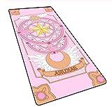LJLSLH Anime Card Captor Sakura Grand Tapis de Souris Bord de Verrouillage Jeu Dessin animé XXL Ordinateur Bureau Clavier Tapis de Souris 800 * 400 * 3 mm