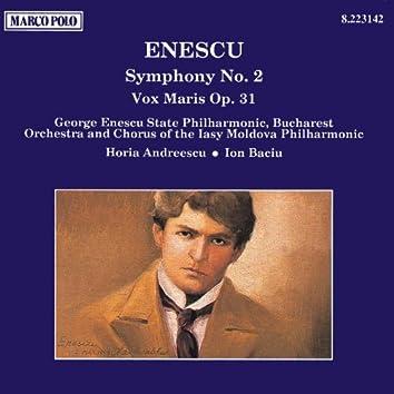 ENESCU: Symphony No. 2 / Vox Maris, Op. 31