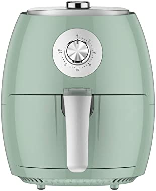 2.5L Air Fryer, Healthy Cookware, French Fries Oven 1350W, 30 Minute Timer and Adjustable Temperature Control 40 ° C-200 ° C Fast Air Circulation green