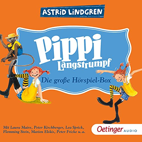Pippi Langstrumpf - Die große Hörspielbox cover art