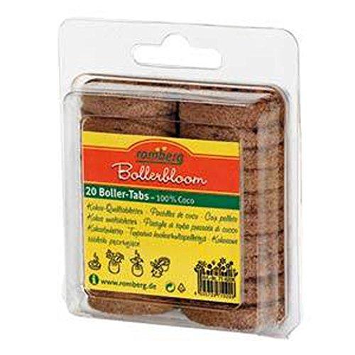 ROMBERG 71020 K Kokosquelltöpfe 20 Stück Inhalt pro Karton