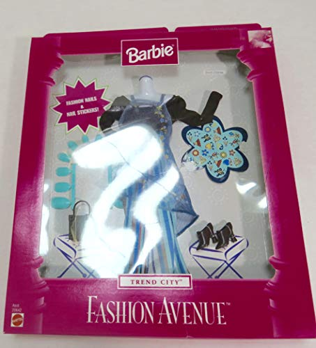 Mattel Barbie Fashion Avenue–Too Cool Verde Outfit
