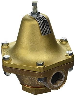 "Cash Valve 1875-0028 Bronze Pressure Regulator, 10 - 45 PSI Pressure Range, 1"" NPT Female from Tyco Valves & Controls"