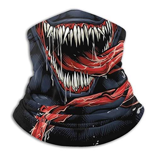 Ven-om Art Multifunctional Headwear Bandanas Warm Neck Gaiter for Men Women Boys Girls