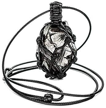 Elite Noble Shungite Pendant Crystal with Adjustable Сord  Elite Braided