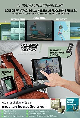 Sportstech WRX700 Wasser Rudergerät - 4