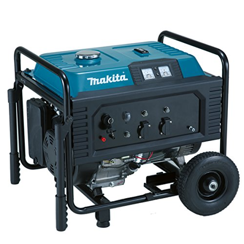 Makita EG5550A Stromerzeuger 5,5 kVA, Schwarz, Blau