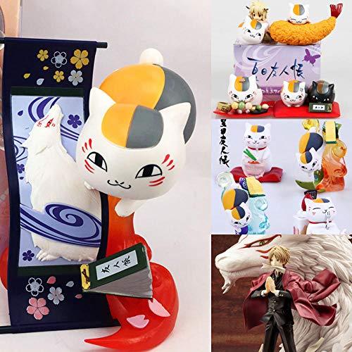 Regalo Creativo Modelo De Regalo Decoracion De Escritorio Cuenta De Amigo De Natsume Modelo De Maestro De Gato Modelo De Caja Ciega Periférica Muñeca Muñeca Decoración-1 Generación 4 Modelos 5cm_