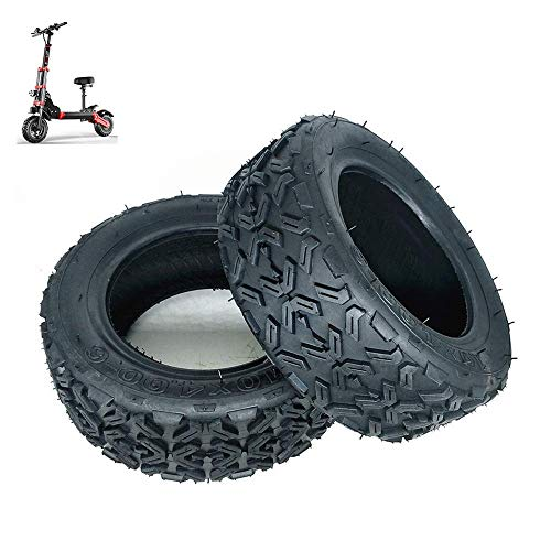 Neumáticos para Scooter eléctrico, neumáticos Todoterreno de vacío 10X4.00-6, neumáticos ATV de 10 Pulgadas, neumáticos Antideslizantes Resistentes al Desgaste para Scooters, neumáticos para