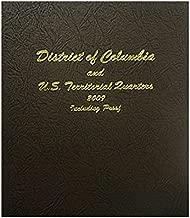 Dansco US Statehood D.C & Territories Quarter Coin Album 2009 with Proof Volume 3 #8145