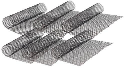 Rosenstein & Söhne Magische Grillmatte: 6x Profi-Silikon Dauer-Back- & Grillmatte 42 x 36 cm, antihaft (Magische Grillplatte)