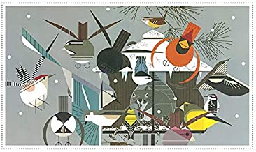 Charley Harper Christmas Cards Boxed Holiday Cards with Envelopes - 12 Rustic Forest Animal Greeting Cards: Season's Greetings